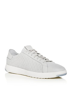 Cole Haan - Men's GrandPro Deconstructed Perforated Leather Lace Up Sneakers